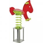Balansoar pe arcuri ponei cu prindere in beton