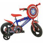 Bicicleta copii 12'' Capitan America
