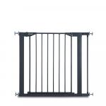Poarta siguranta cu extensie Closen Safe + 7 cm charcoal