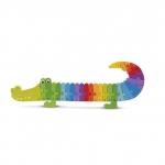 Puzzle Alfabet crocodil