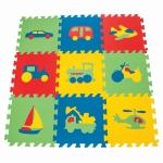 Puzzle Covoras din spuma Vehicule