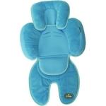 Saltea suplimentara bebelusi BO Jungle 3 in 1 pentru carucior, scaun auto, scoica albastra