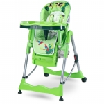 Scaun metalic de masa Caretero Magnus Fun Green
