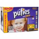 Scutece Pufies Baby Art-Dry Nr.5 78buc