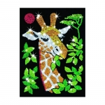 Sequin art - set creativ Girafa