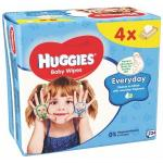 Servetele umede Huggies Everyday Quatro 56x4 Buc