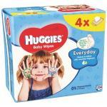 Servetele umede Huggies Everyday Quatro 56x4 Buc