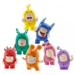 Set 7 mini figurine Oddbods
