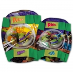 Set protectie Cotiere Genunchiere Ninja Turtles Eurasia 80184