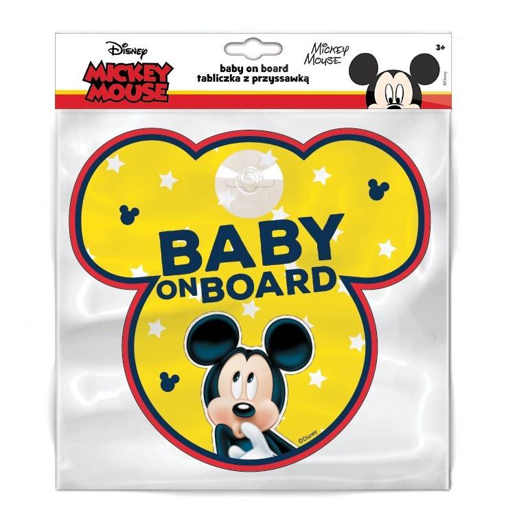 Baby la bord Stiker Disney Mickey Mouse Seven