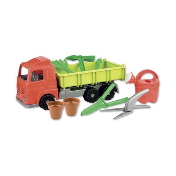 Basculanta cu unelte de gradinarit androni giocattoli