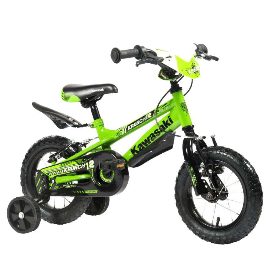 Bicicleta copii Kawasaki Krunch green 16 ATK Bikes