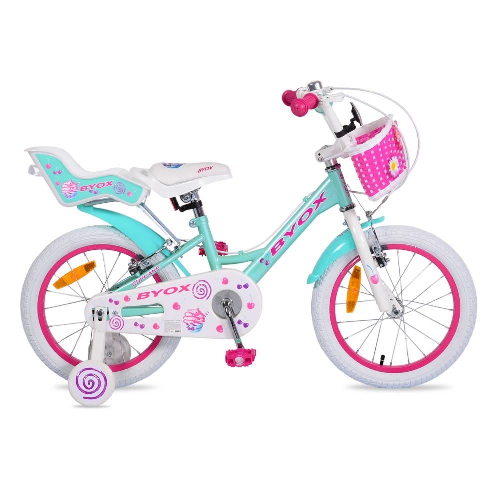 Bicicleta pentru fetite Byox Cupcake 16 inch imagine