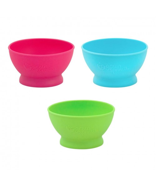 Bol De Invatare Learning Cup Green Sprouts Green
