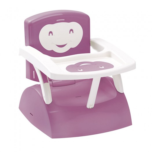 Scaun de masa Booster 2 in 1 Thermobaby Babytop Orchid pink imagine