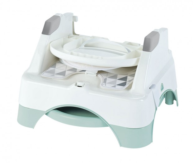 Booster evolutiv Edgar 3 in 1 Thermobaby Celadon green