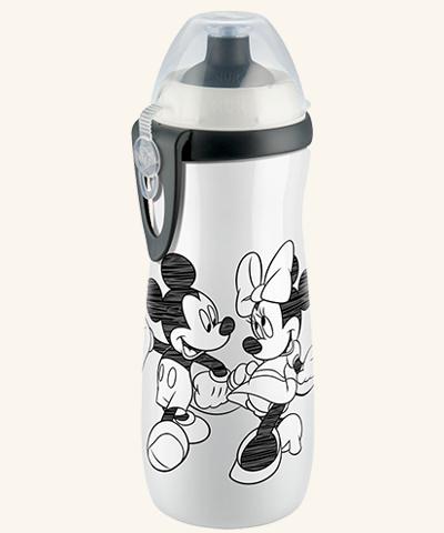 Cana Sport Cup 450ml Cu Adapt.push-pull(+36l) Nuk Disney Mickey Mouse