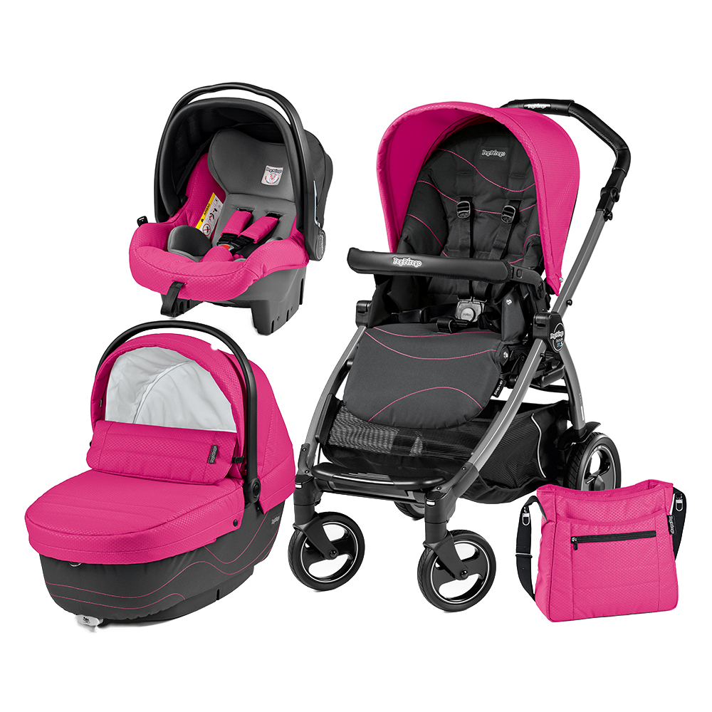 Carucior 3 In 1 Peg Perego Book Plus 51 S Black Sp