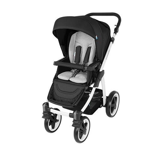 Carucior Multifunctional 2 In 1 Baby Design Lupo Comfort Black 2016