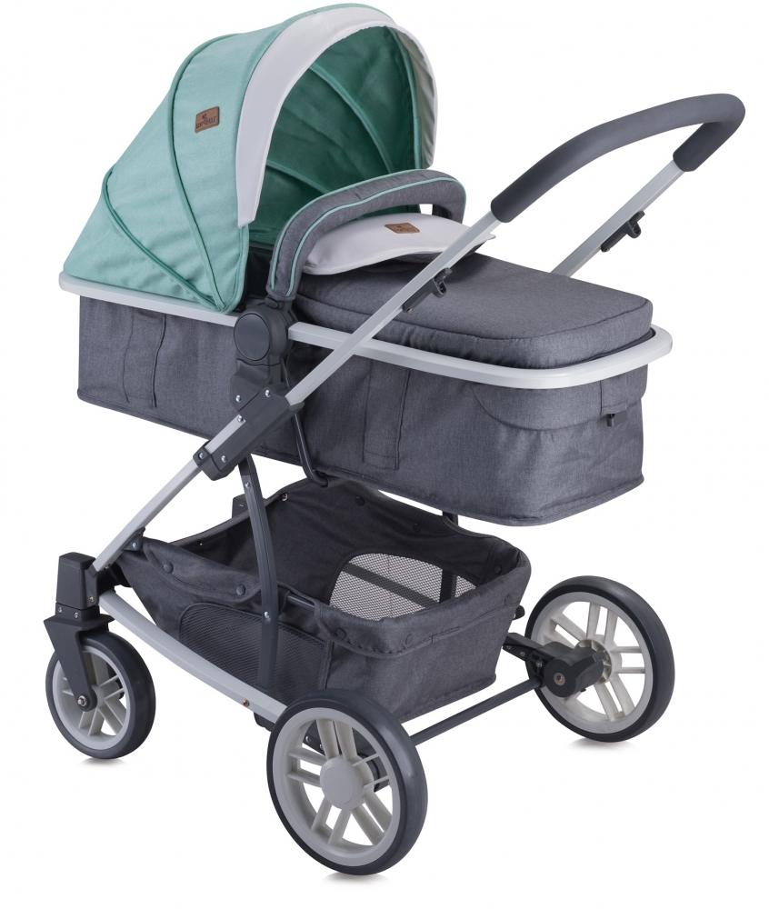 Carucior set S-500 Grey Green Friends