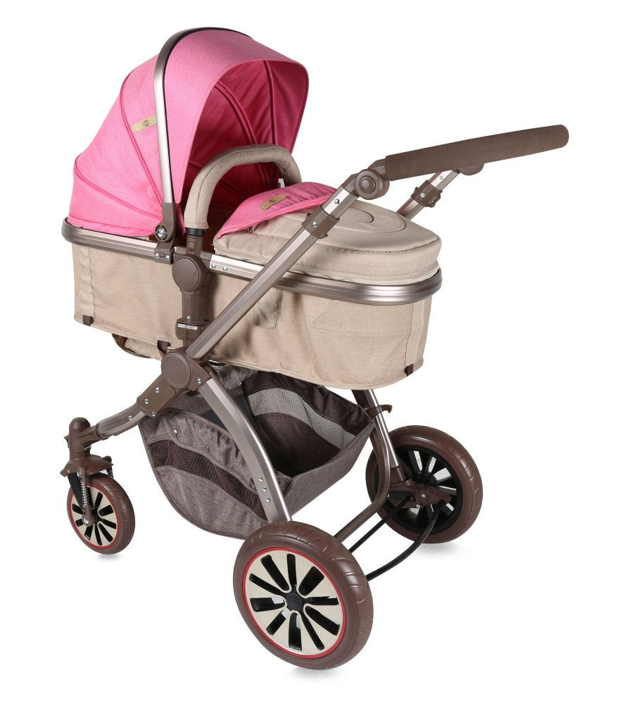Carucior sistem Aurora Rose Beige Fashion Girl