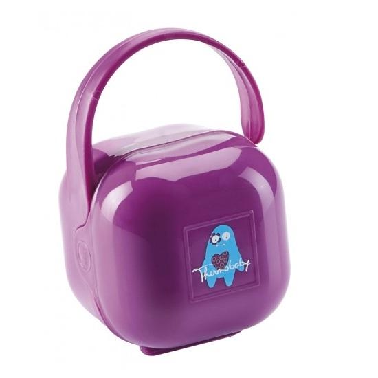 Cutie Portabila Pentru Suzeta Purple