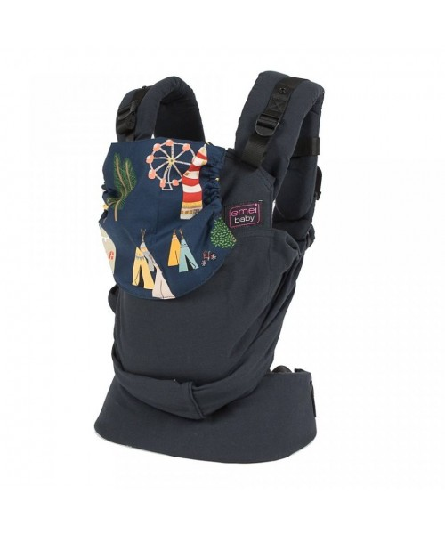 Emeibaby Organic Carrier Baby Limited Edition Blac