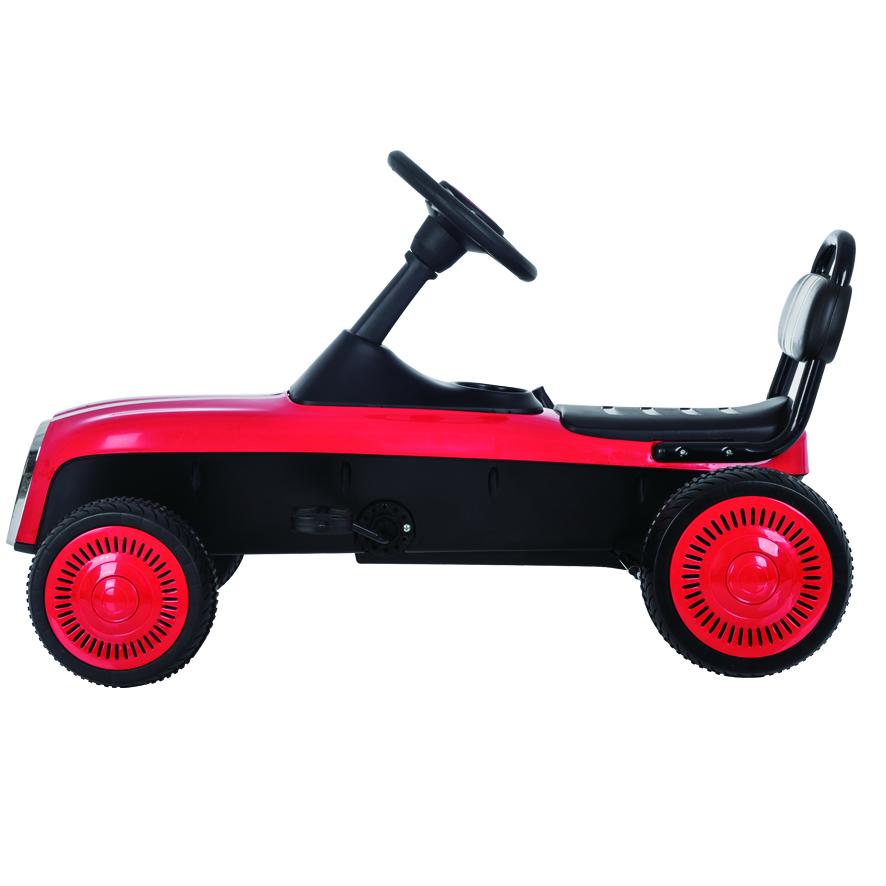 Kart cu pedale Retro Red