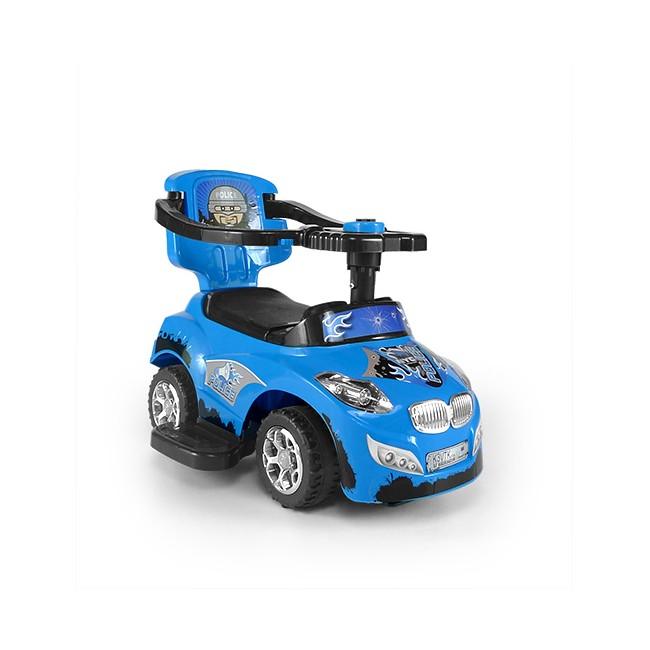 Masinuta pentru copii 3 in 1 Happy Blue