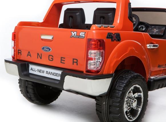 Masinuta Electrica Cu Roti Eva Si Telecomanda Ford Ranger Orange