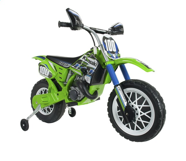 Motocicleta electrica KAWASAKI cross 6V