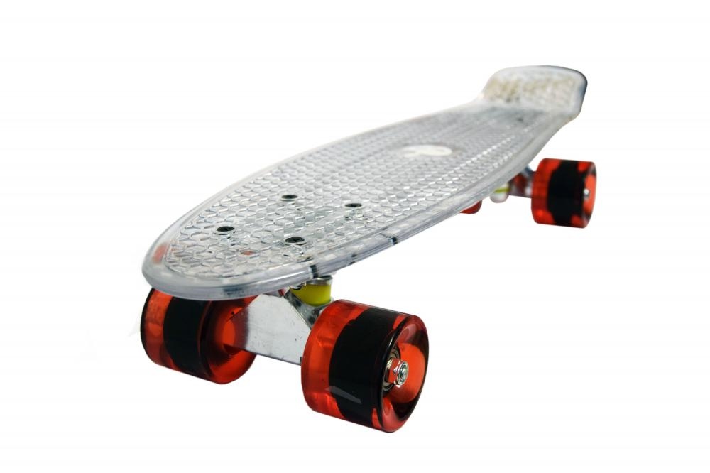 Penny board Mad Abec-7 crystal clear