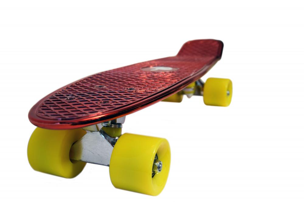 Penny board Mad Abec-7 metal red