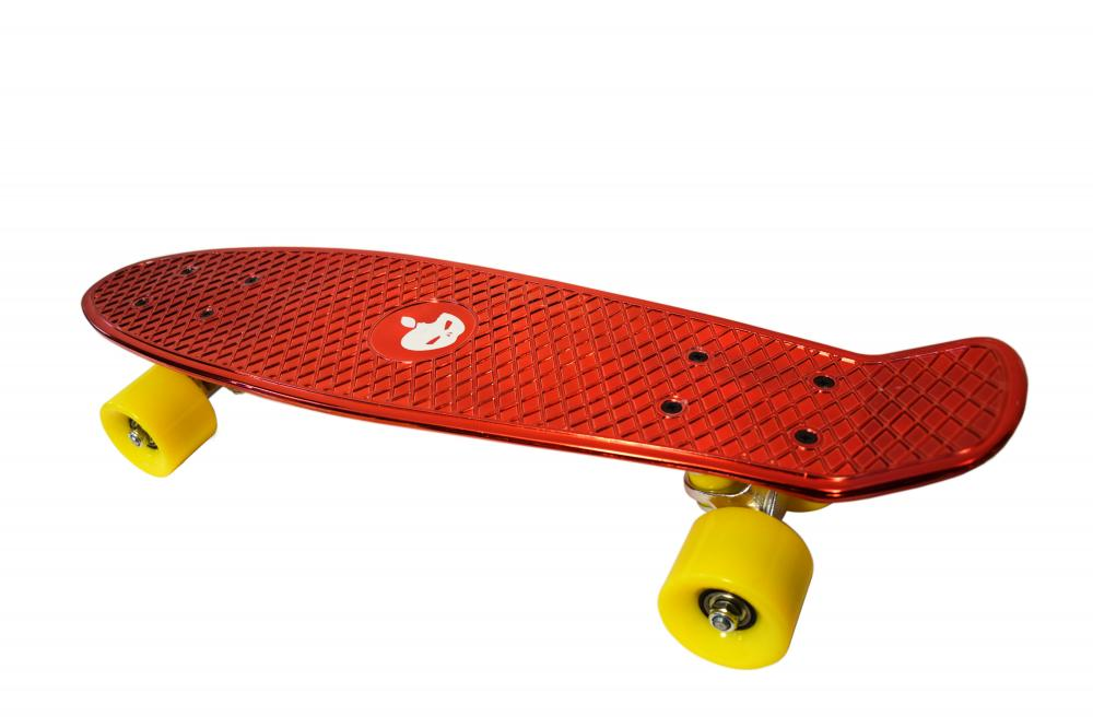 Penny board Mad Abec-7 metal red imagine