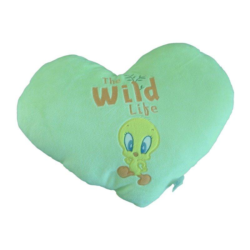 Perna de plus galben inima Tweety 40 cm imagine