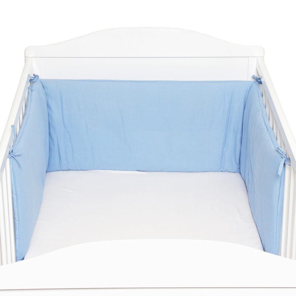 Protectie laterala pentru pat lemn Blue Fillikid