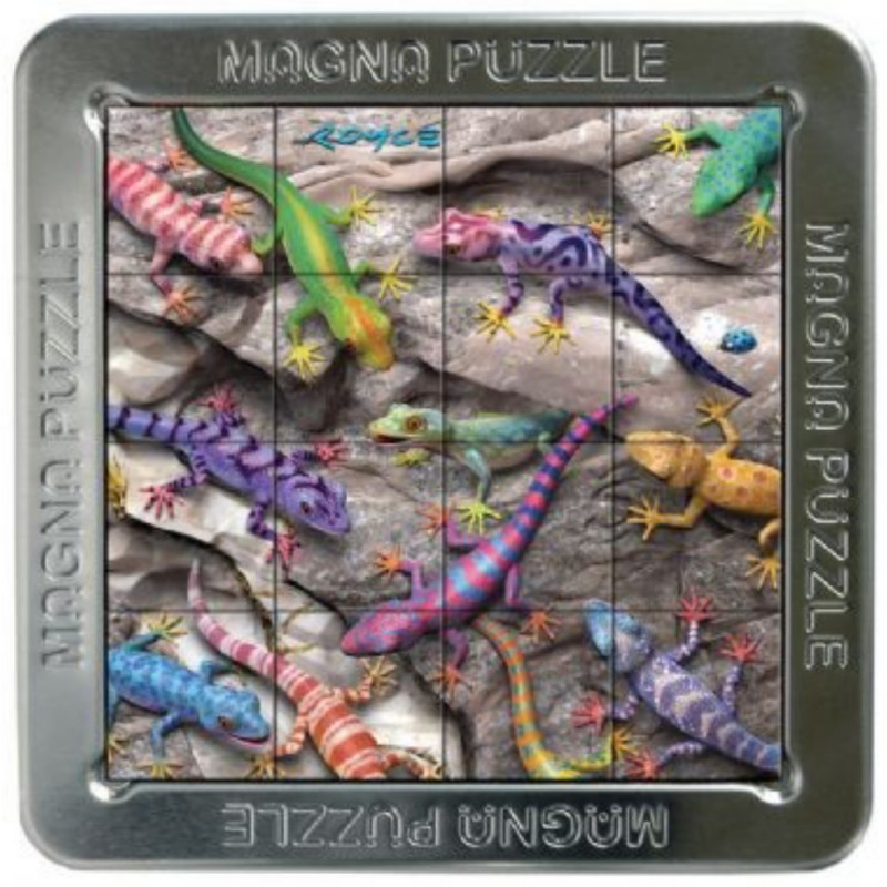 Puzzle 3D magnetic mic soparle Gecko