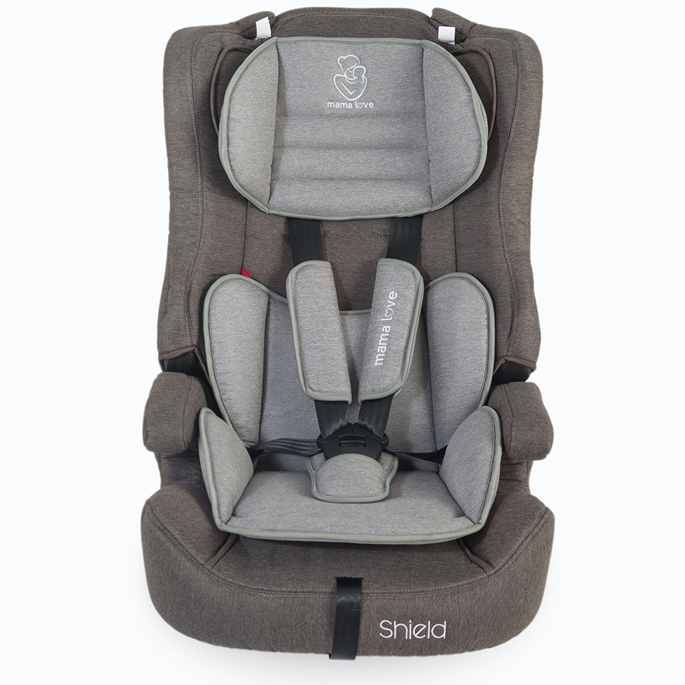 Scaun auto MamaLove Shield grupa 9-36 kg Gri imagine