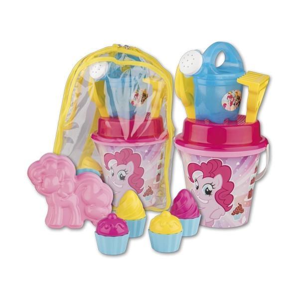 Set jucarii de nisip in rucsac My Little Pony
