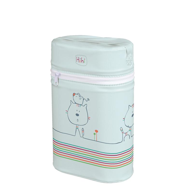 Termoizolator universal pentru 2 biberoane 120 ml Pisicuta