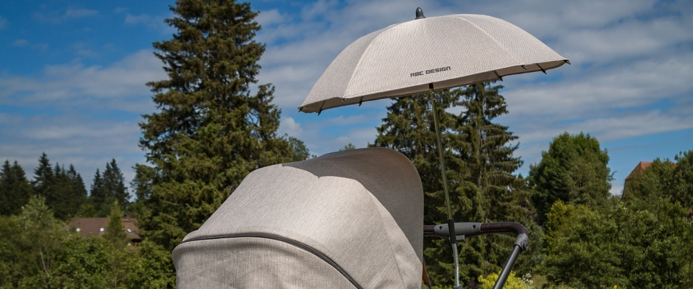 Umbrela cu protectie UV50+ Sunny Graphite grey Abc Design 2017