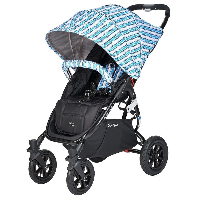 Carucior sport cu roti gonflabile Snap 4 CZ Edition Blue Stripes