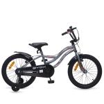 Bicicleta pentru copii cu roti ajutatatoare Byox Fox 18 inch