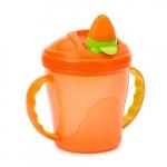 Canuta Free-Flow Cup 4 luni+ portocaliu