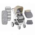 Carucior sistem Vista Grey & Beige Cities