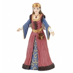 Figurina regina din perioada medievala Papo