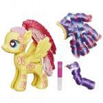 Figurina mare de asamblat Fluttershy, My Little Pony, Hasbro