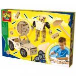 Hobby baieti Set de constructie din lemn - diverse modele