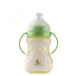 Pahar cu manere 300 ml 4L+ Vanilla mintgreen Rotho-babydesign