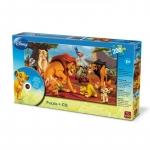 Puzzle Disney + CD cu povestea Regele Leu